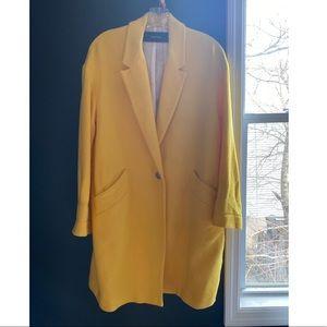 Zara Oversized Cocoon Coat - NWOT - Size S